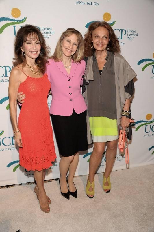 Susan Lucci, Donna Hanover, Diane Con Furstenberg