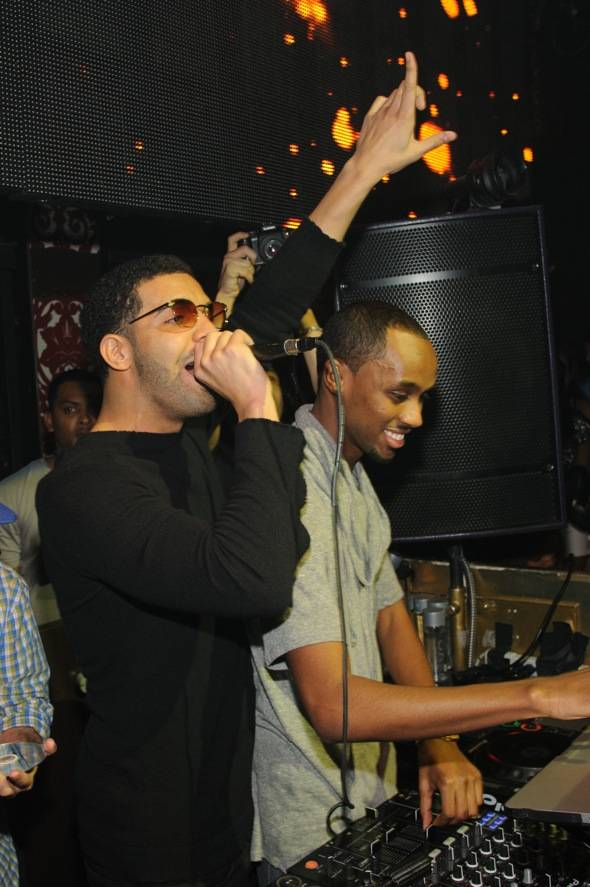 Drake and DJ Future_TAO Las Vegas