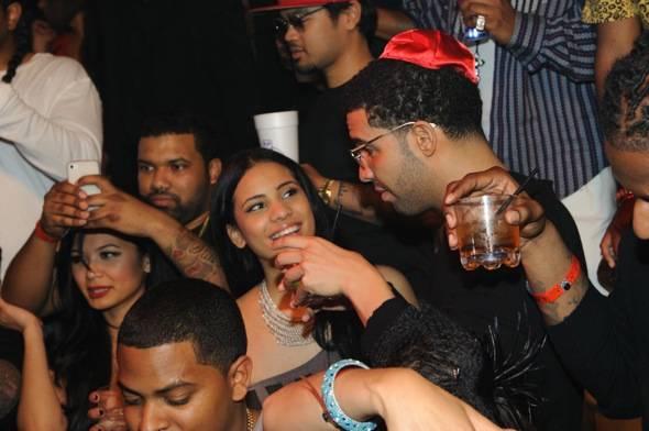 Drake at TAO Las Vegas