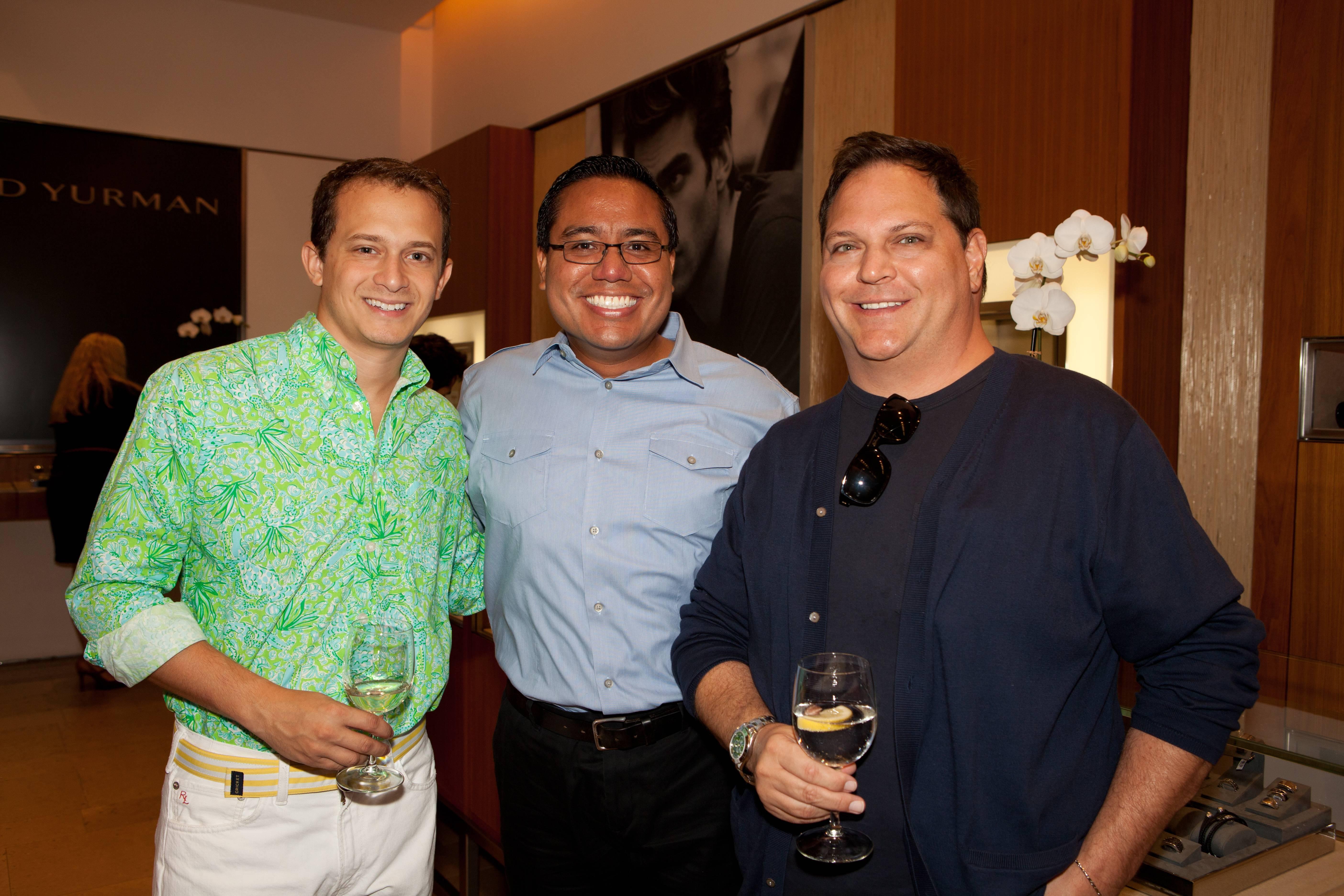 Edward Menhert, Blair Douglas-Russell,David Guzman
