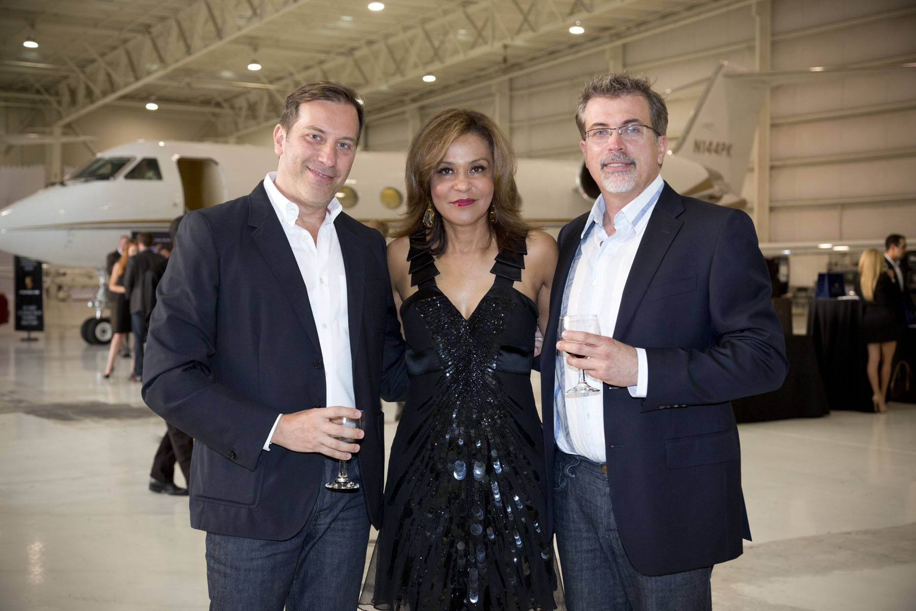 Elite Aviation: Passport to Luxury Event: Renato Rotondaro, Chri