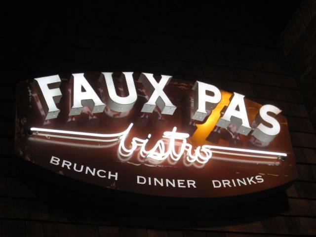 FauxPasBistro