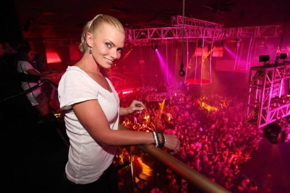 Jaime Pressly at Rain Nightclub 5.26.12