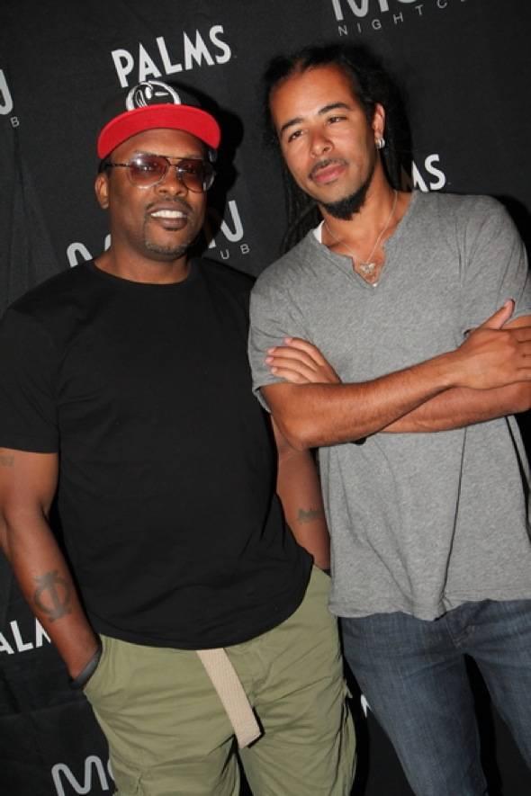 Jazzy Jeff and Chris Kilmore at Moon Nightclub