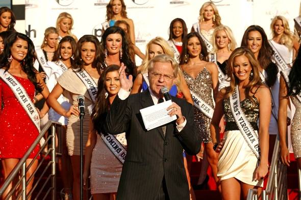 Jerry Springer_Miss USA Welcome Event