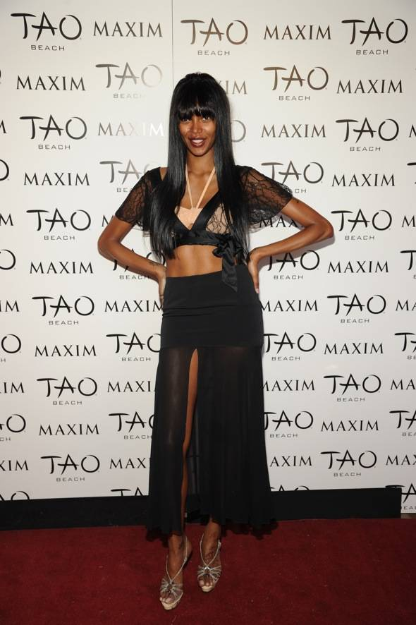 Jessica White at Tao Beach