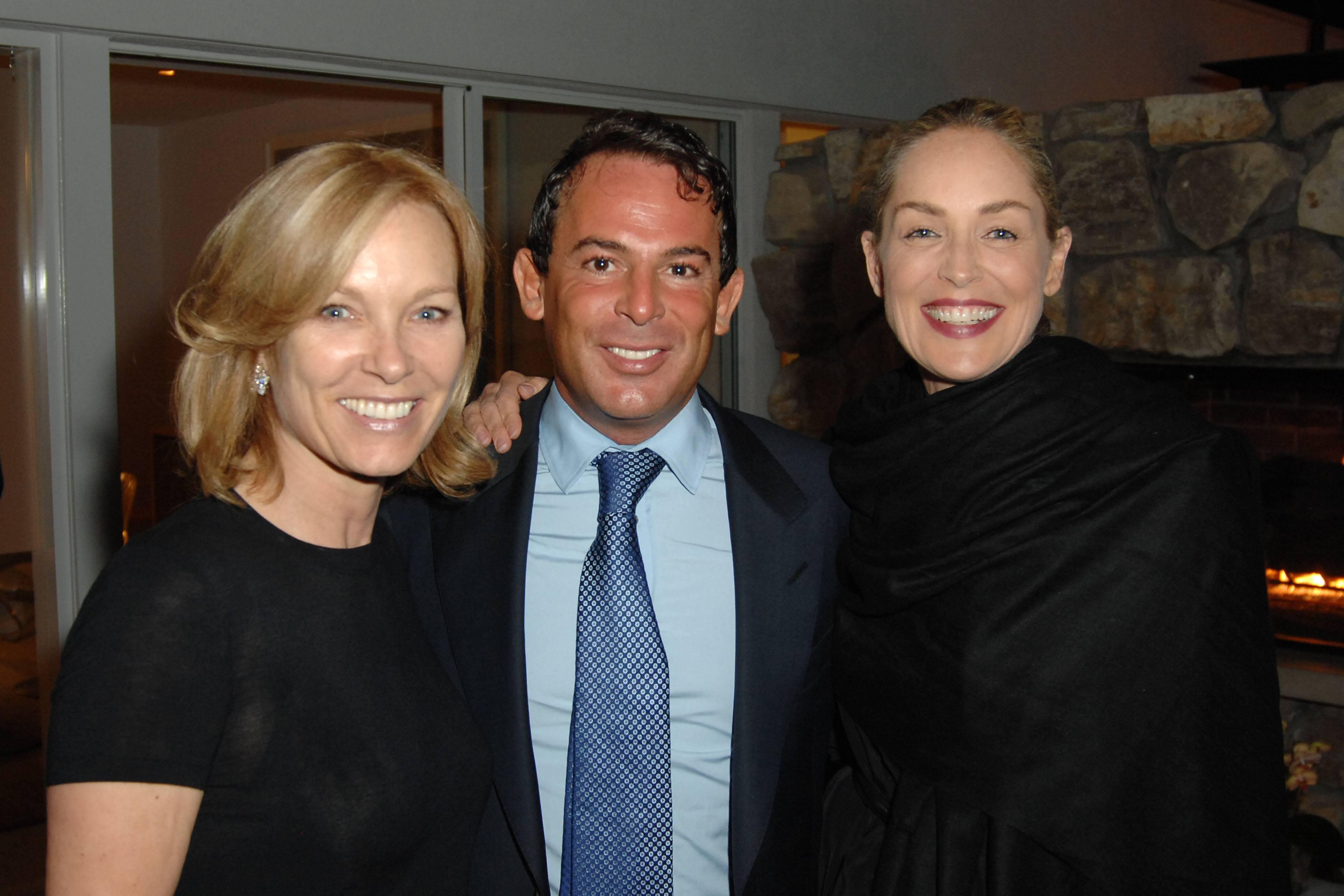 Karen Pulaski, Eugenio Lopez, Sharon Stone
