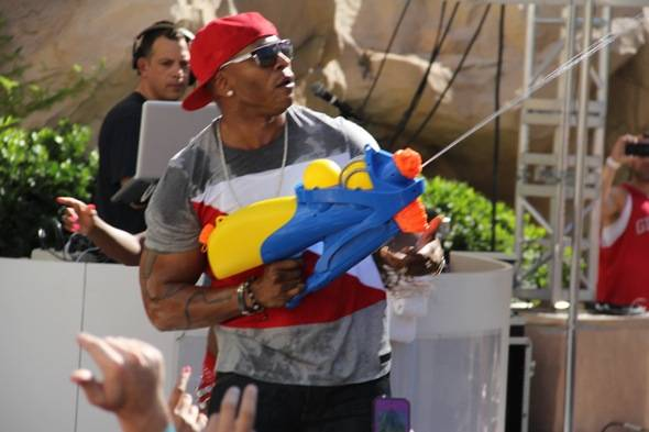 LL Cool J Water Gun Photo Credit Hew Burney