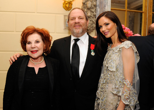 Miriam and Harvey Weinstein and Georgina Chapman