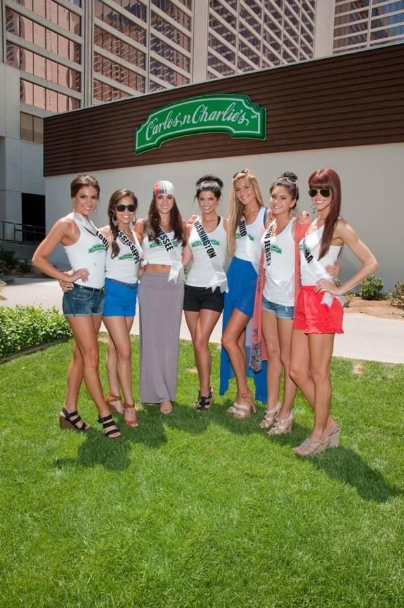Miss USA Carlos'n Charlie's