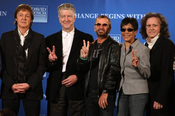 Paul+McCartney+Ringo+Starr+David+Lynch+Foundation+12QtGiAvlo2l
