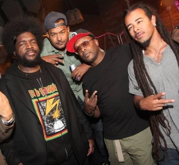 Questlove, MC Skillz, Jazzy Jeff and Chris Kilmore at Moon Nightclub 5.27.12