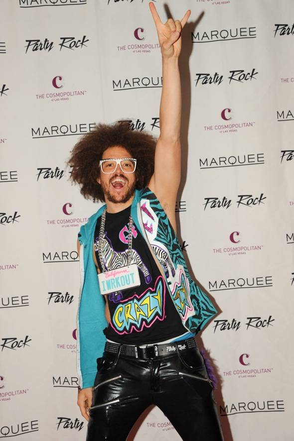 Redfoo Marquee Red Carpet