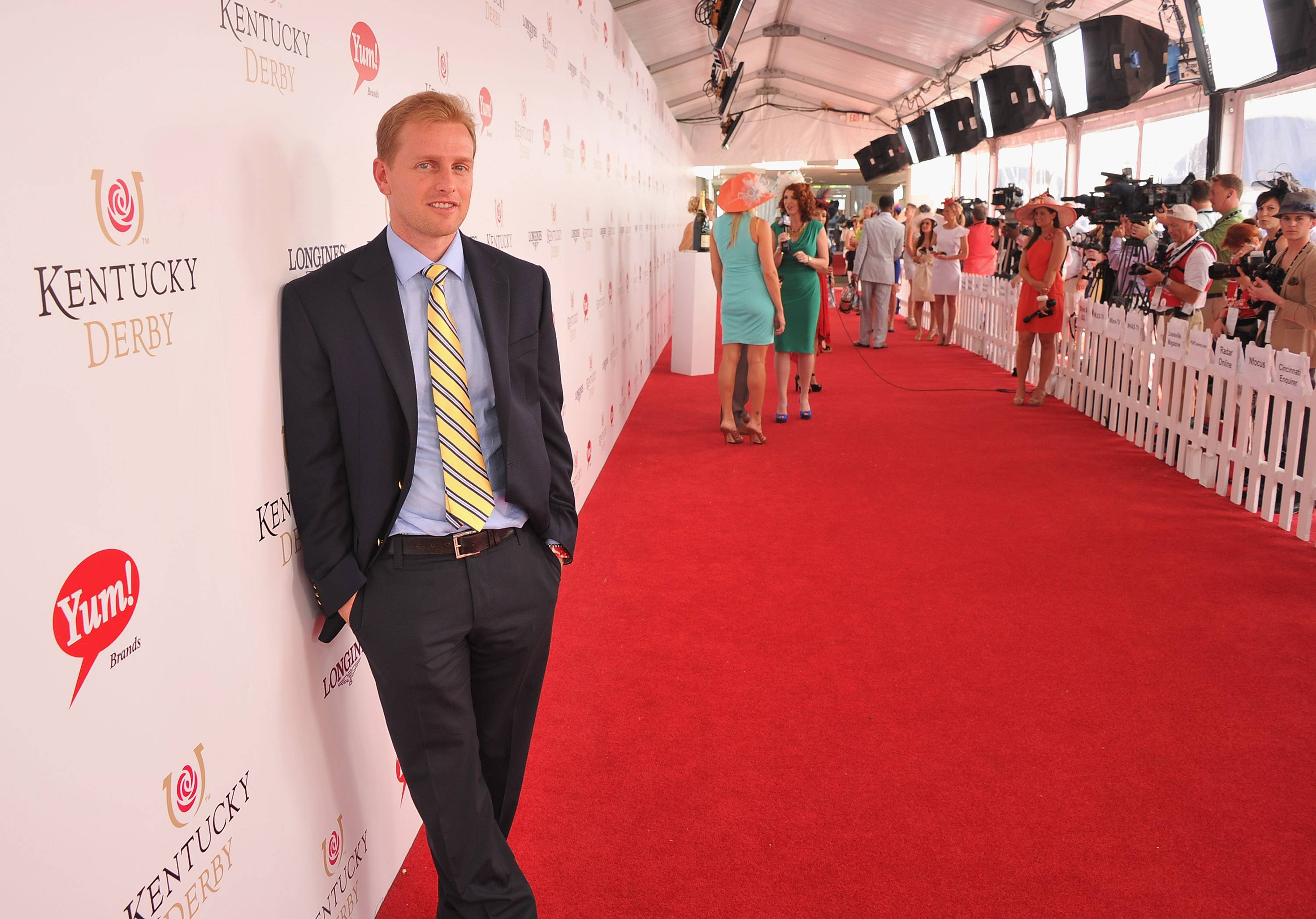 Scott Wakeman, Brand Director, GREY GOOSE Vodka at the 138th Running of the Kentucky Derby.