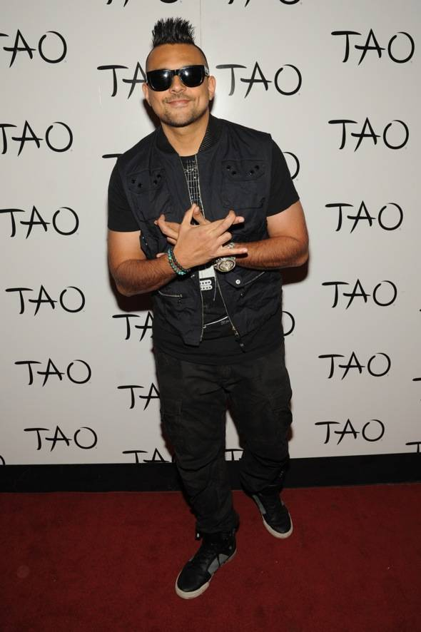 Performing artist, Sean paul, performs at TAO