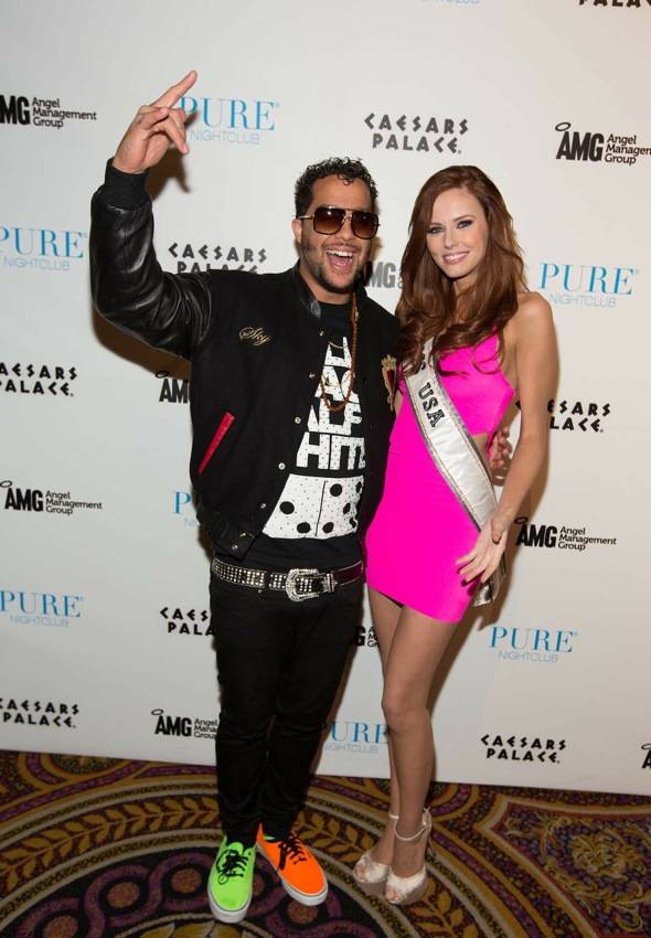 Sky Blu_Miss USA Alyssa Campanella_PURE Nightclub