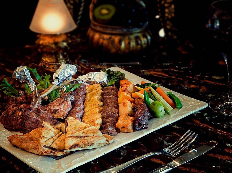 Times of Arabia Mixed Grill Platter 2