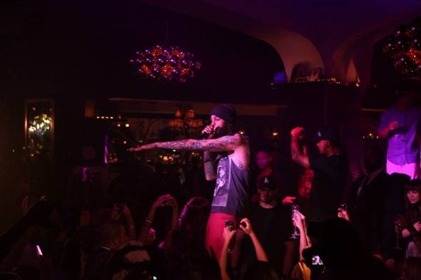 Travie McCoy performs Stereo Hearts at Hyde Bellagio, Las Vegas, 5.27.12