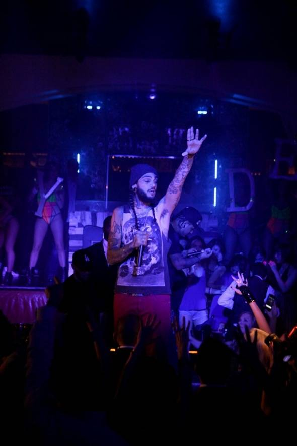 Travie McCoy performing at Hyde Bellagio, Las Vegas, 5.27.12