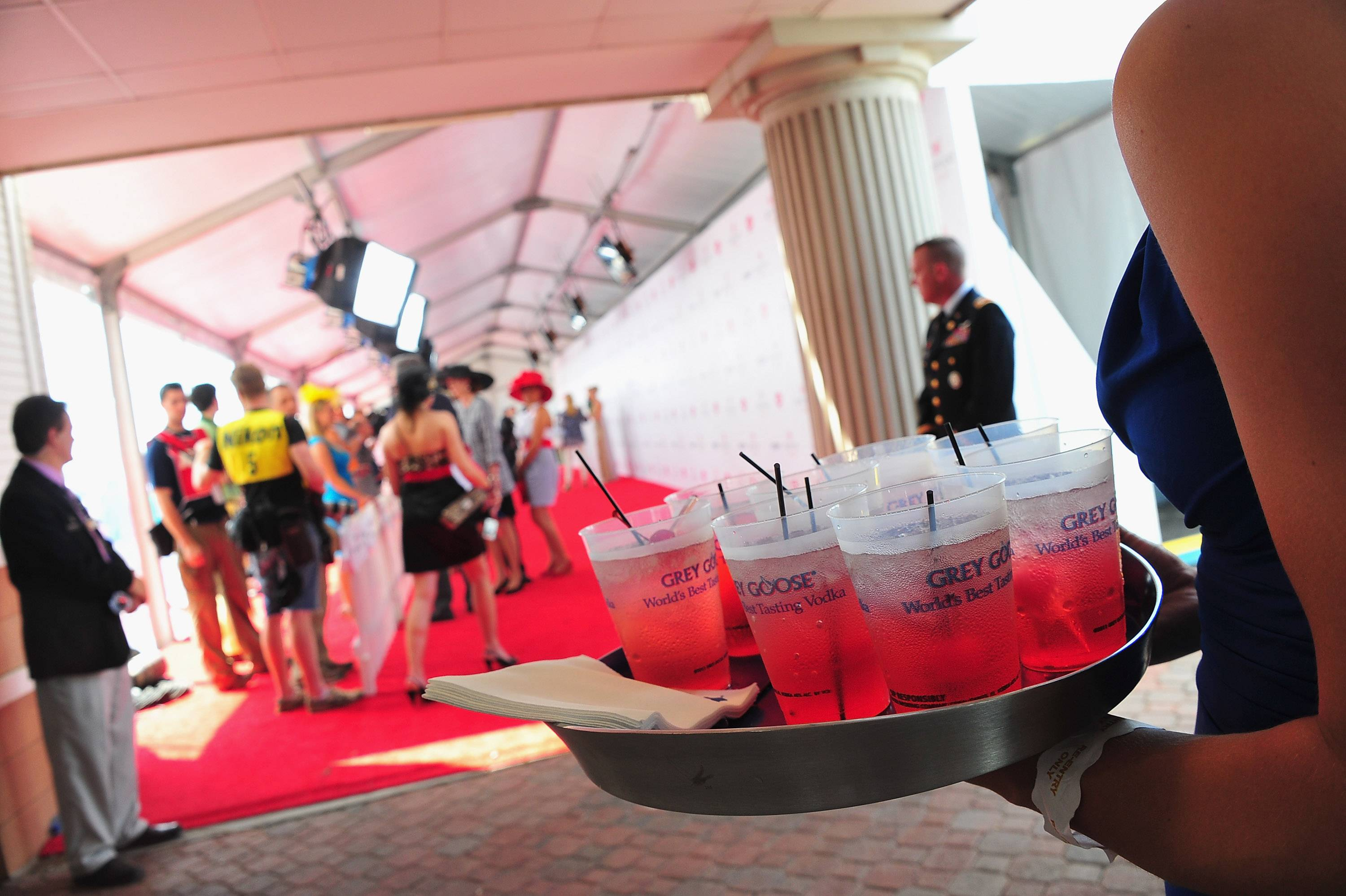 atmosphere at the GREY GOOSE Vodka Lounge at the 138th Running of the Kentucky Derby2.