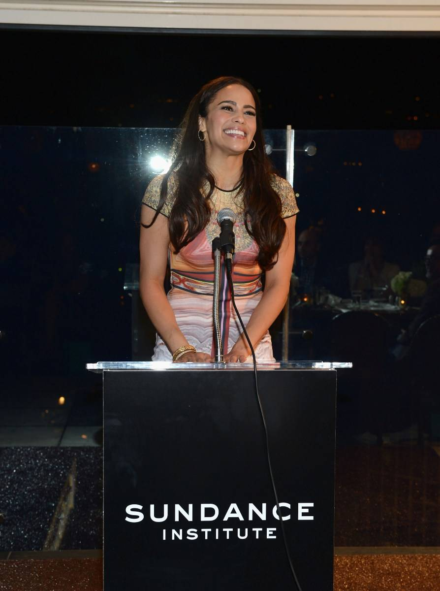 Paula Patton at the Sundance Institute Benefit presented by Tiffany & Co. in Los Angeles/Getty Images