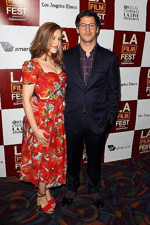 Andy Samberg & Joanna Newsum
