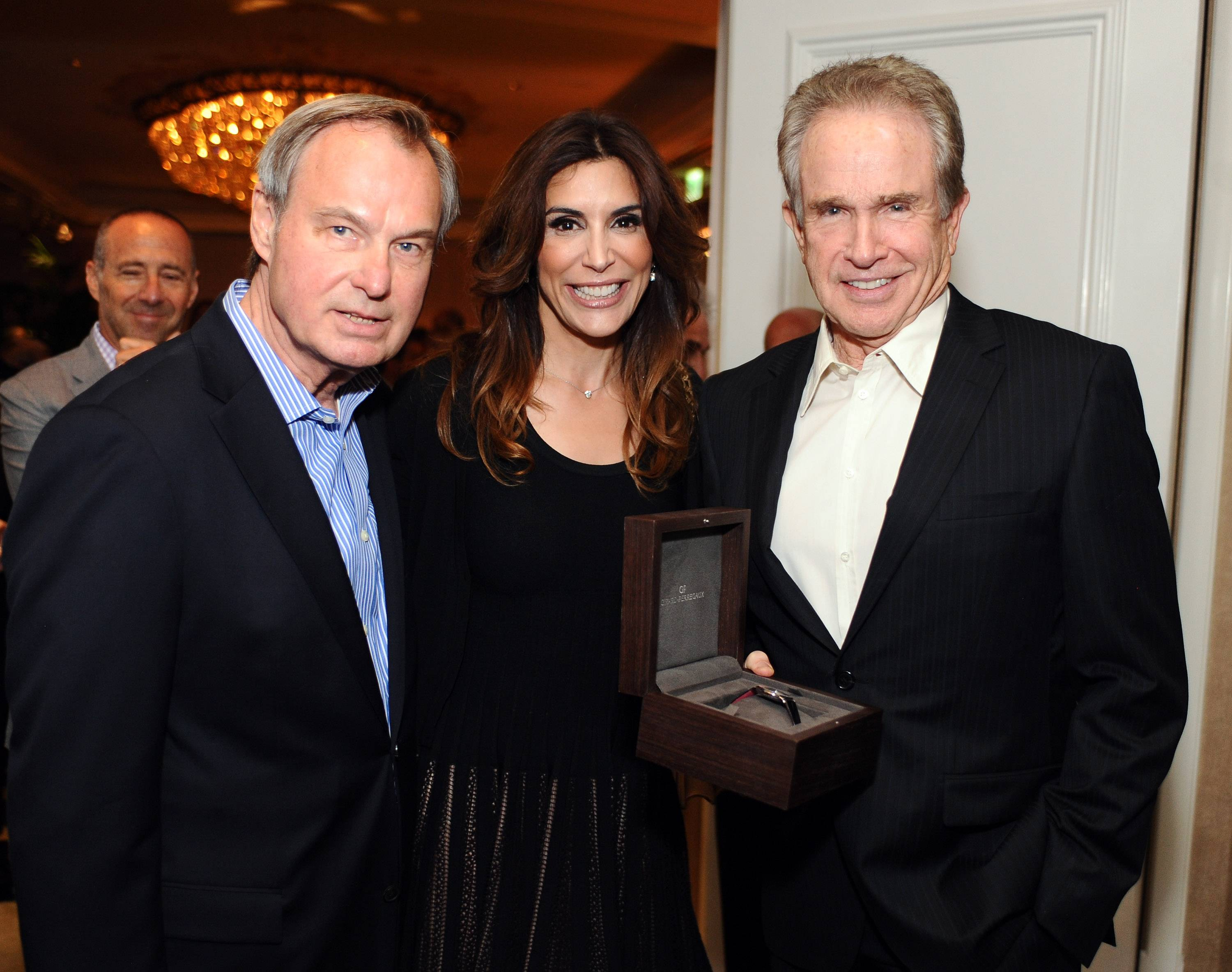 Warren Beatty, Jo Champa and Ken Scherer