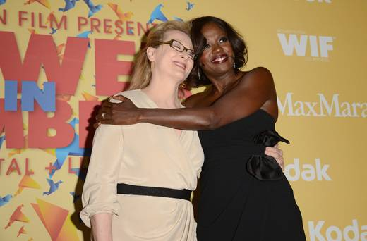 Meryl Streep, left, and Viola Davis, right.