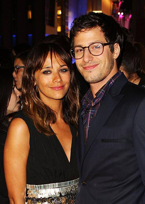 Rashida Jones & Andy Samberg