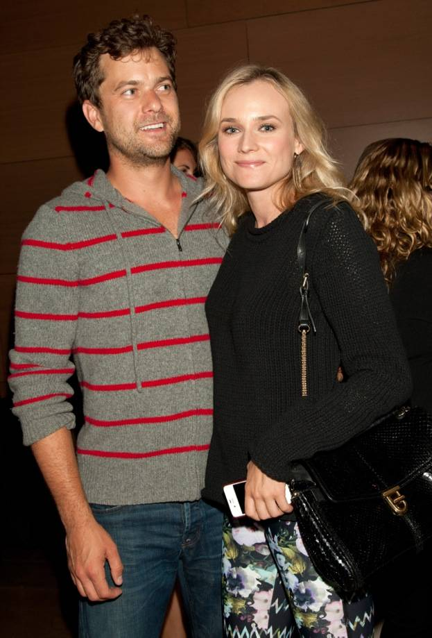 Joshua Jackson and Diane Kruger at Montblanc Presents The 24 Hour Plays