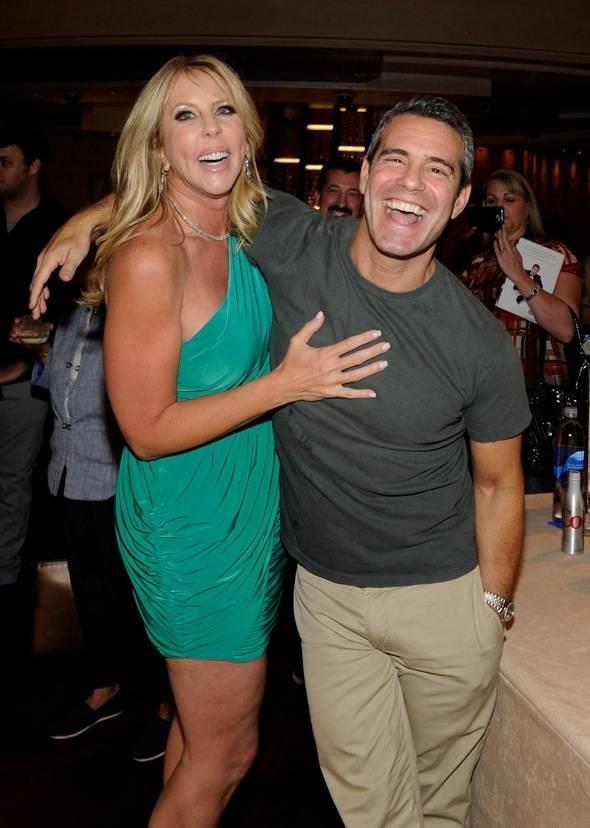 Andy Cohen & Vicki Gunvalson