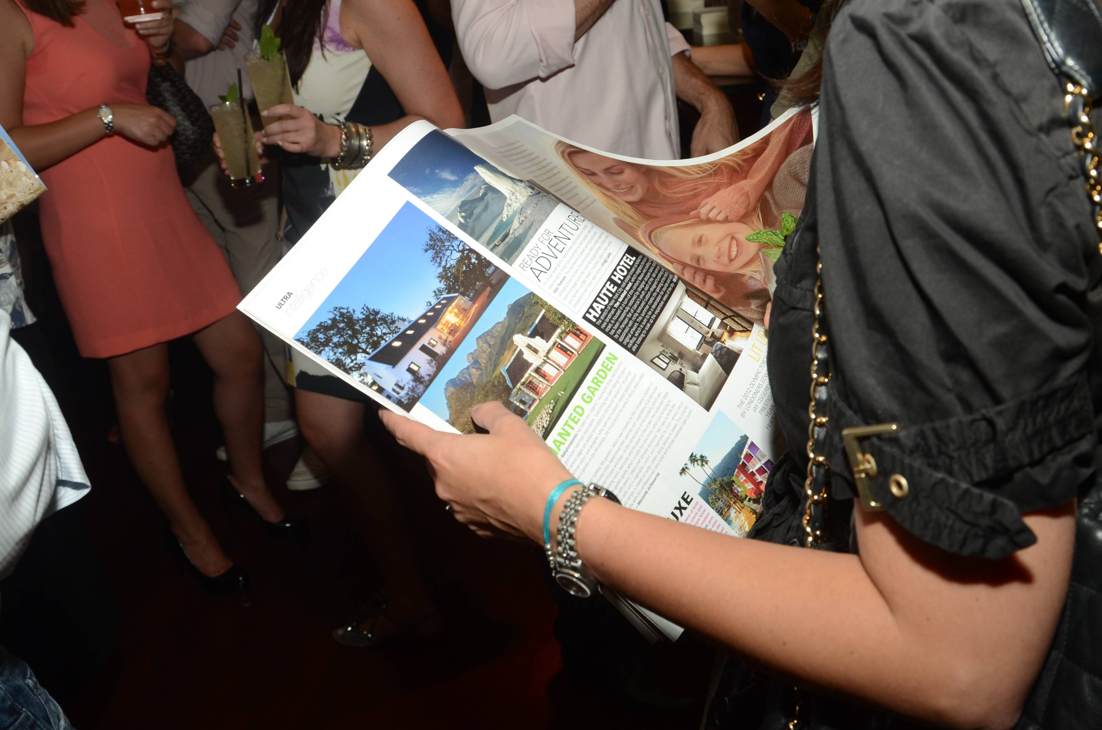 Atmosphere at U.S. Launch of Ultratravel Magazine (3)
