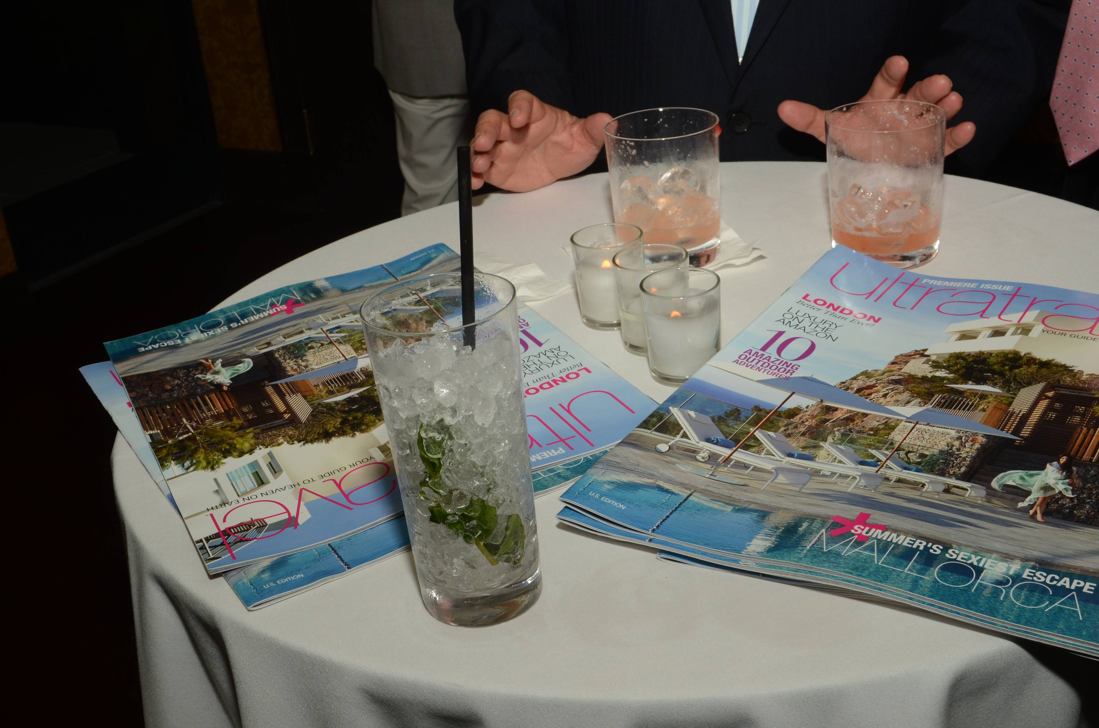 Atmosphere at U.S. Launch of Ultratravel Magazine