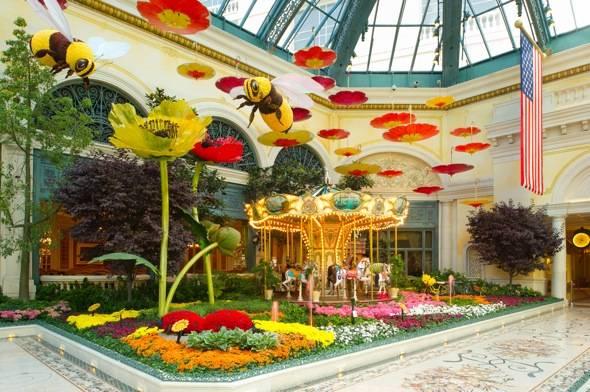 Bellagio Conservatory – Summer – Carousel – 2012