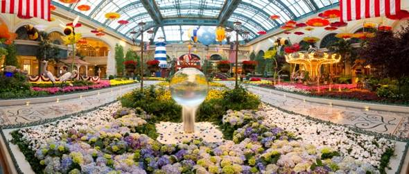Bellagio Conservatory - Summer - Entrance - 2012