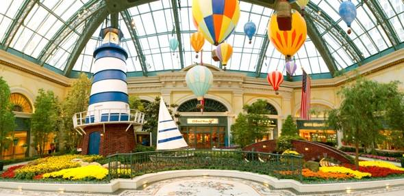 Bellagio Conservatory - Summer - Lighthouse - 2012