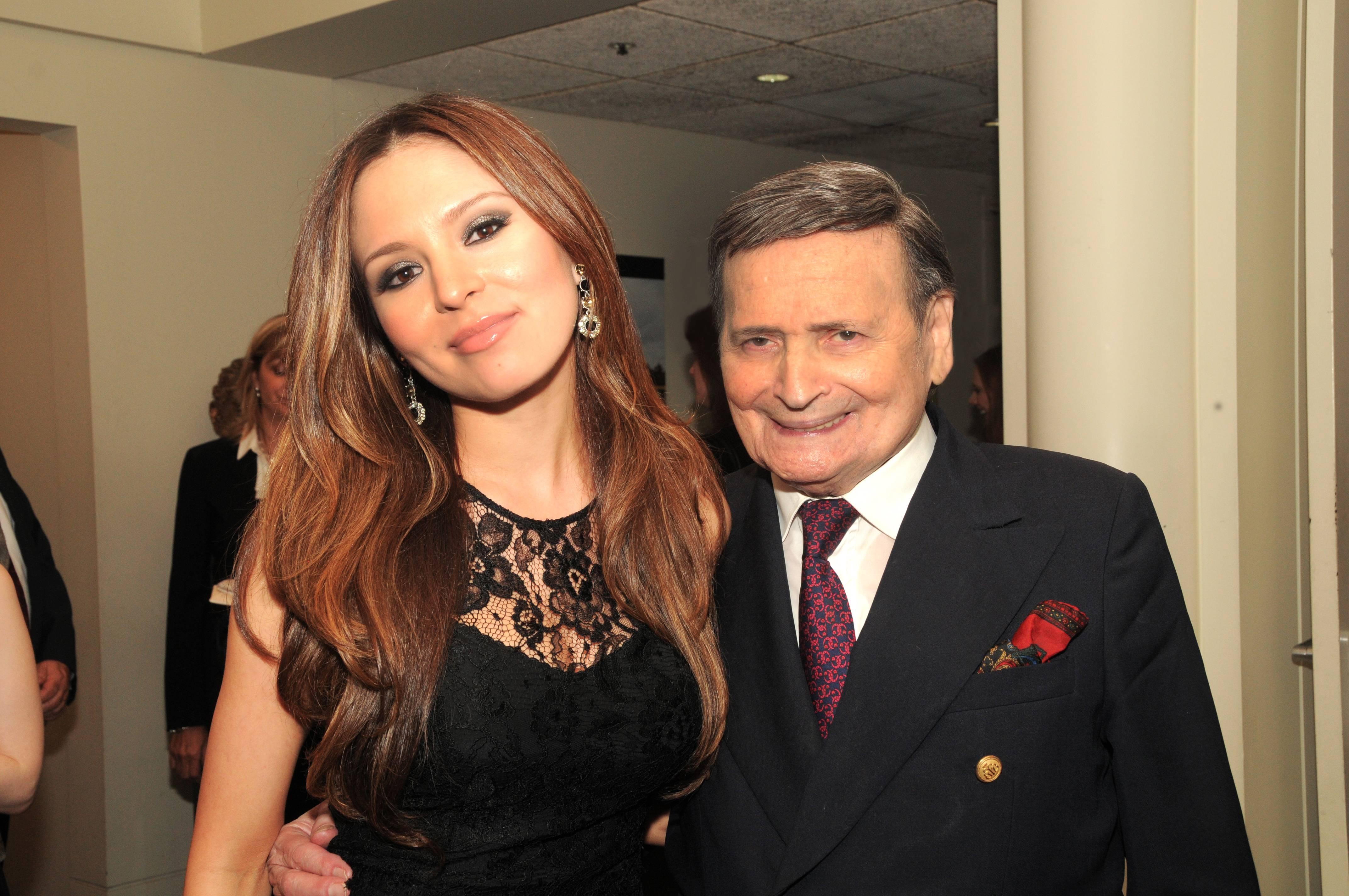 Byron Janis and Lola Astanova