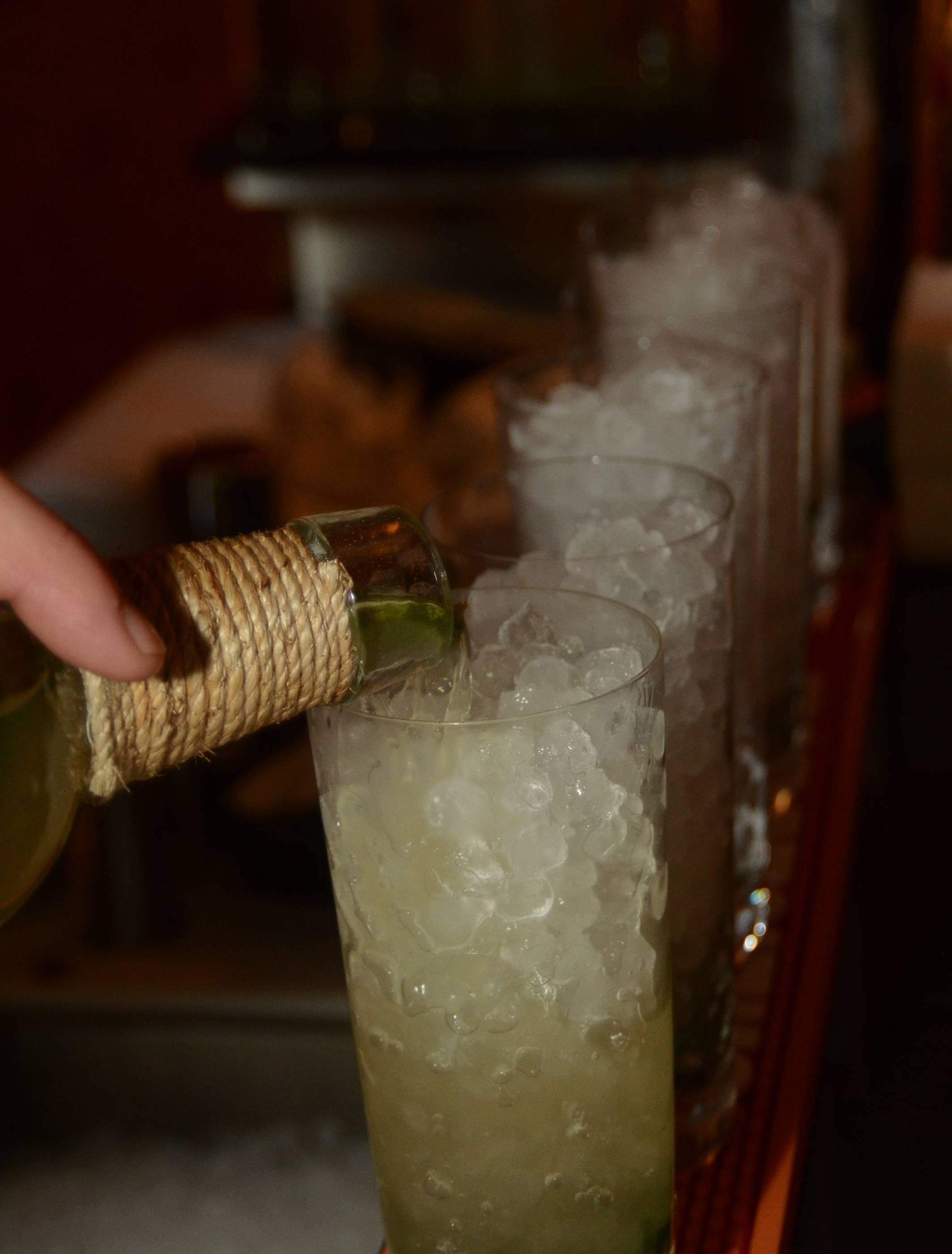 Cali Mojitos Made with Caliche Rum Served at the U.S. Launch of Ultratravel Magazine