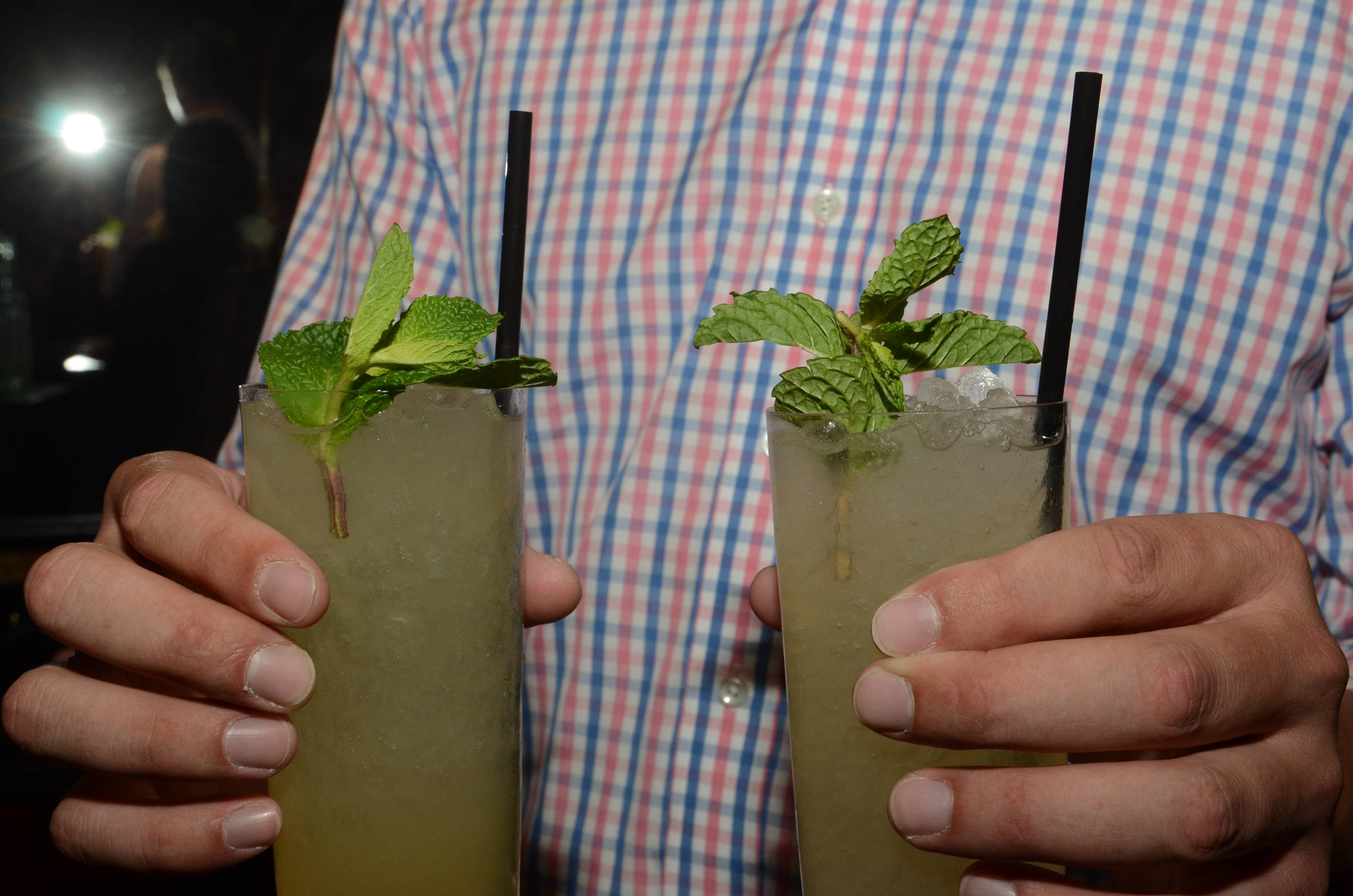 Cali Mojitos Made with Caliche Rum Served at the U.S. Launch of Ultratravel Magazine(2)