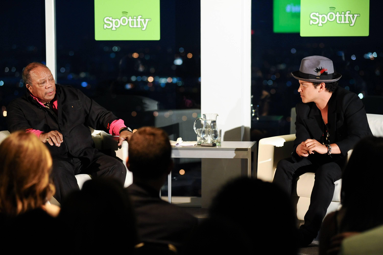Quincy Jones & Bruno Mars/Spotify