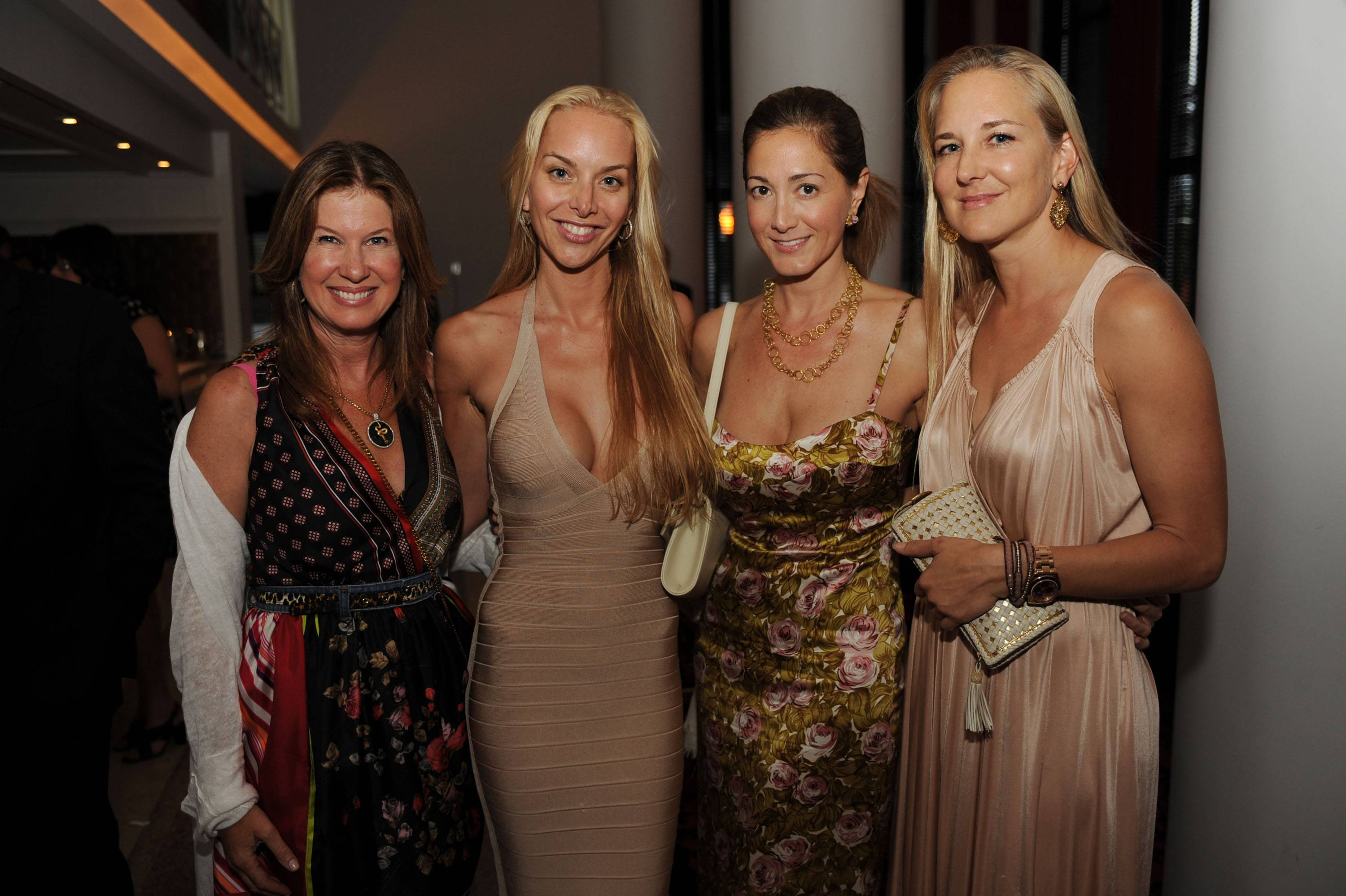 Dana Shear, Christina Getty-Maercks, Laura Buccellati, & Getty-Dupreez