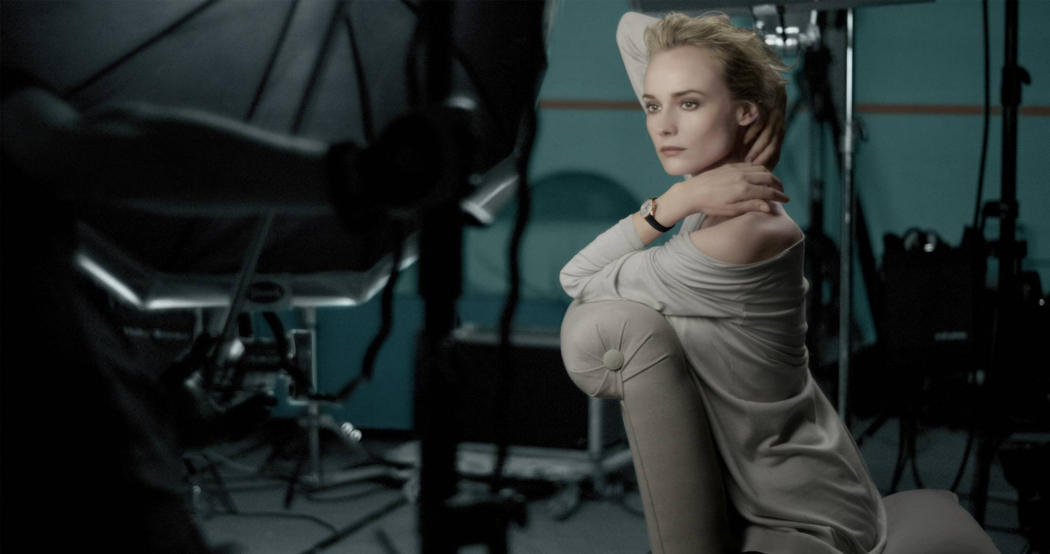 Diane-Kruger 1 the making of Rendez-Vous advertising campaign