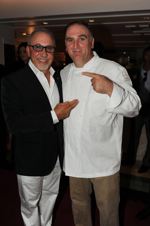 Emilio Estefan & Jose Andres