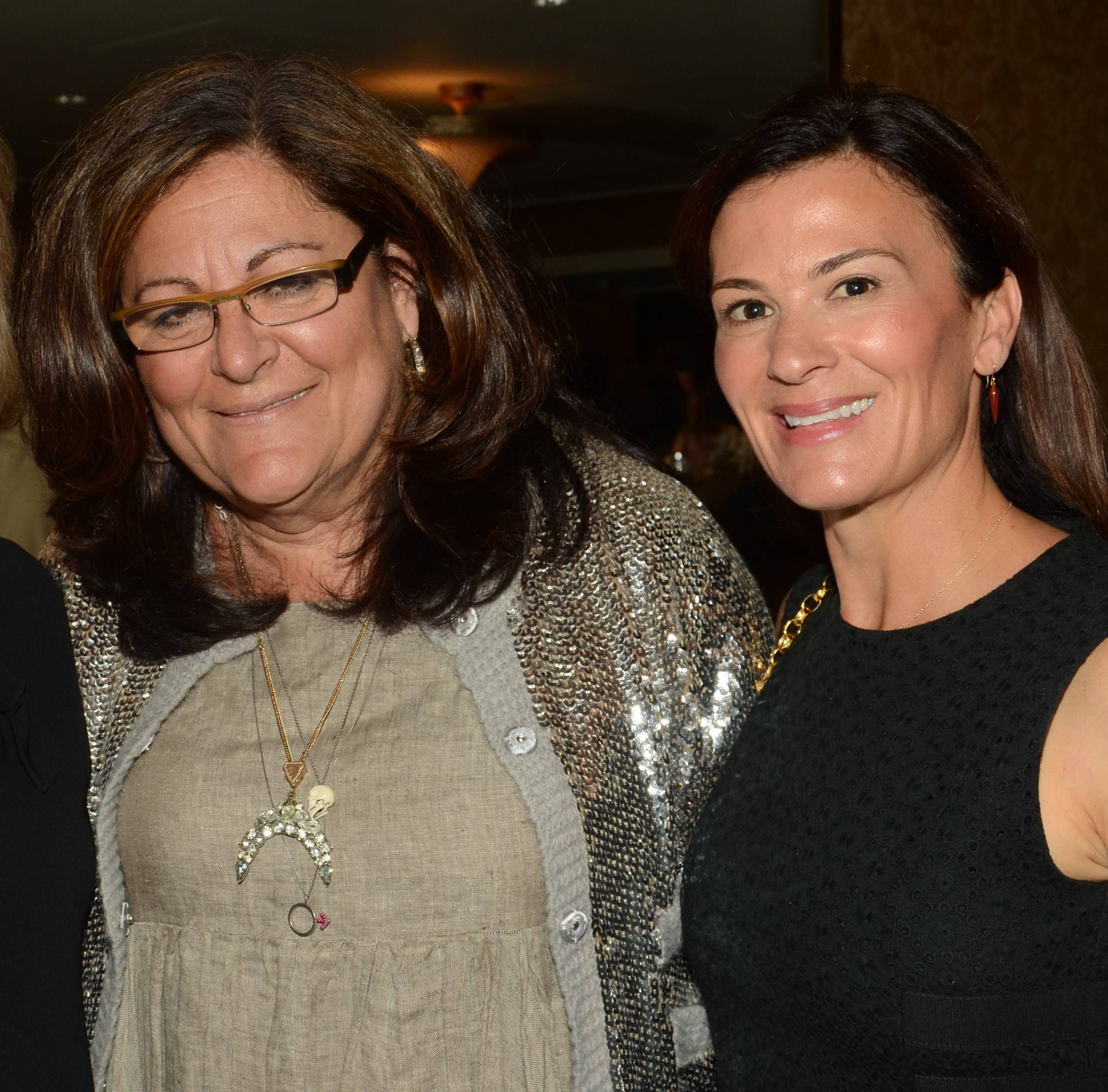 Fern Mallis and Sarah Harrelson (Ultratravel U.S. Editor in Chief) Attend the U.S. Launch of Ultratravel at the NoMad Hotel