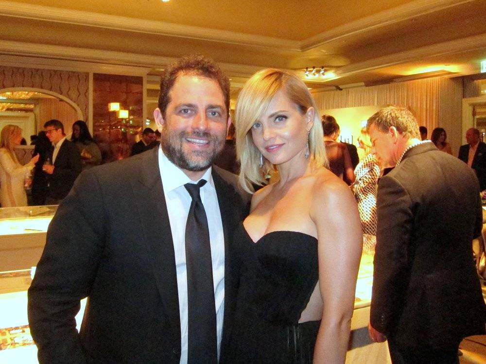 Brett Ratner and Mena Suvari
