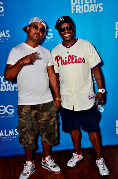 Jazzy Jeff and hype-man MC Skillz at Palms for Ditch Fridays in Las Vegas 6.22.12