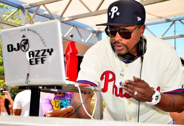 Jazzy Jeff performing at Palms for Ditch Fridays in Las Vegas 6.22.12