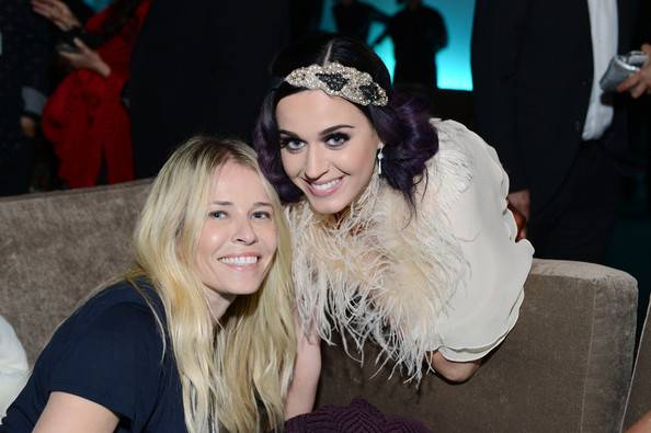 Katy Perry and Chelsea Handler