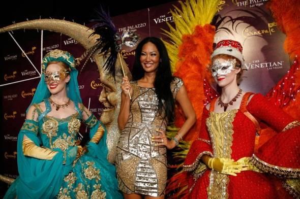 Kimora Lee Simmons brings Fabulosity to Carnevale at The Venetian Las Vegas