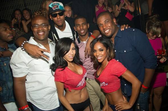 LAVO Chris Paul Group Shot